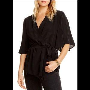 NWT Chaser wrap blouse size medium